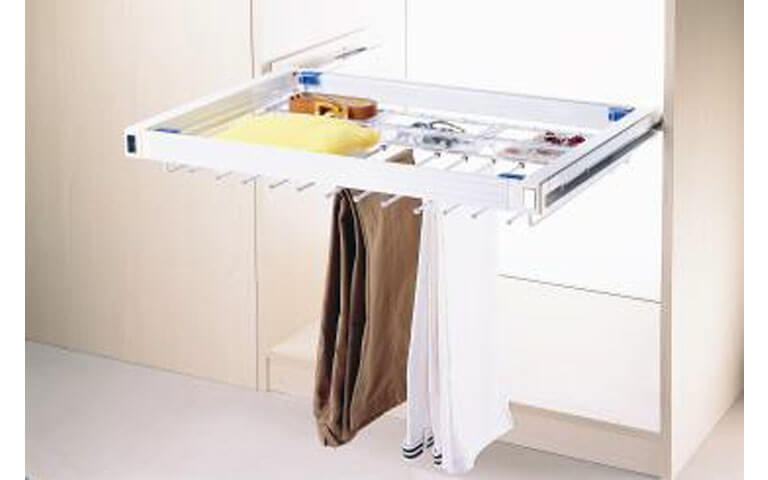 Ideal Home Design International Multi Purpose Drawer Hanging Rod